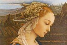 Art peinture (Filippo Lippi) / Renaissance italienne magnifique