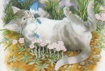 Peintre (Inge Look) / Monde merveilleux des animaux au pays des fleurs