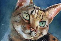 Peintre (Rachel Parker) / Chats