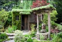 Structures and Gardens / Man-made and naturally formed buildings, gardens and interiors... / by Dani Eide