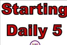 Daily 5 / by Stephanie Jones-Hegarty