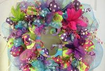 Wreath Ideas / by Jennifer Gainey