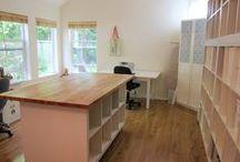 Rain Rock Studio I Workspace / Arts | Craft work & office space ideas