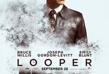 "inspiration: POSTERS: MOVIES: ""LOOPER"" (2012)"