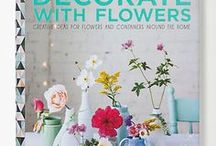 DECORATE WITH FLOWERS / decoratewithflowers.com Decorate With Flowers is a fresh floral book by Holly Becker and Leslie Shewring showing how to use flowers in a casual, beautiful way at home, including arrangement and project DIYs, entertaining tips and more. Available in 10 languages worldwide.