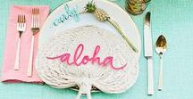 Dining / Table Setting, Dining Decor, Let's party