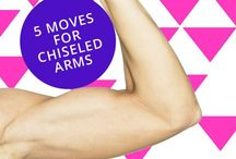 Arm exercises / by Danielle Schilling