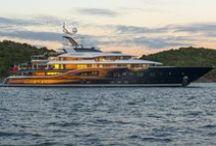 Lürssen Superyachts / Our favourite Lürssen yachts including Kismet, Solandge, Project Green and Quattroelle.