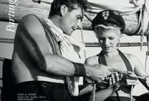 Parting Shot / Black and white photography of famous yachts, sailors and iconic images.
