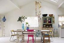 kitchen // dining area