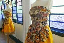 Saias e Vestidos / Ideias para peças que podem ser feitas nas aulas de corte, costura e modelagem