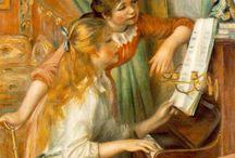 Música / Música, instrumentos, frases e citações de música, objetos musicais