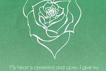 creativity + yoga: heart chakra / heart chakra, heart chakra affirmations, heart chakra healing, heart chakra crystals, anahata chakra, heart chakra meditation