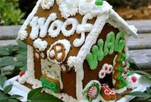 Gingerbread Doghouse / handmade confections by Ma Snax Dog Treats / by Ma Snax Dog Treats