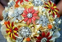 Brooch Bouquets  / by Tina Marie Proctor