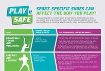 Play It Safe / Ever wonder what type of #sneakers you should buy? What about sports-specific shoes? This board answers all those questions and takes the guesswork out for you!