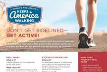 Today's Podiatrist Keeps America Walking / Find out how to keep your feet healthy and happy, and how podiatrists keep you active!
