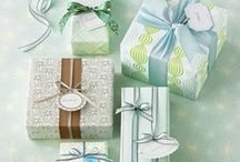 Gift Ideas and Wrapping / It's always a challenge to find gift ideas that are classy or fun that you think people would appreciate and which don't cost a fortune. I think presentation is almost as important.