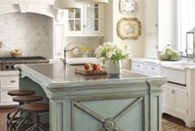 Kitchen Bliss / Kitchens I like or ideas to make the kitchen run more efficiently...