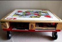 Change Change Change / Repurposed possibilities. Up-cycling. New life for used, found, or dated items.