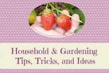 Household and Gardening Tips, Tricks, and Ideas