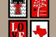 Red Raider Home Decor / Ideas to make any Texas Tech home, a true powerhouse! / by Texas Tech Athletics