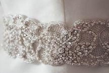 Bridal Belts/Sashes / Please visit www.allysonjames.net for more information / by Allyson James