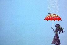 Let it rain ... / by Lil´ Sweet Haven .