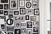 gallery walls / by Melissa Conover