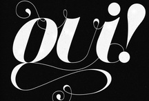 monograms and calligraphy/typography  / by Melissa Conover