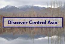 Discover Central Asia / some incredible places that might inspire you to visit Central Asia - Kazakhstan, Kyrgyzstan, Tajikistan, Turkmenistan, Uzbekistan