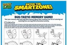 SmartLab Free Zone / THE place for free activities, trivia and coloring downloads for kids. Updated every week with a brand-new activity.  / by SmartLab Toys
