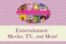Entertainment- Movies, T.V., and More