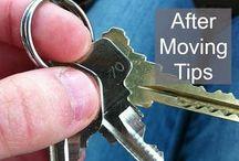 M O V I N G   D A Y / Tips to simplify moving day
