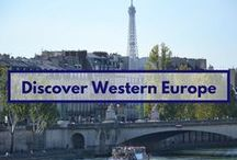 Discover Western Europe / some incredible places that might inspire you to visit Western Europe - Ireland, UK, France, Belgium, the Netherlands, Luxemburg, Germany, Switzerland, Andorra