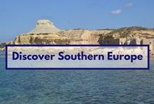 Discover Southern Europe / some incredible places that might inspire you to visit Southern Europe - Portugal, Spain, Monaco, Malta, Italy, Greece, Cyprus, Turkey