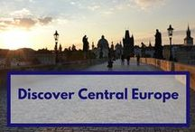 Discover Central Europe / some incredible places that might inspire you to visit Central Europe - Austria, Czech Republic, Slovakia, Hungary