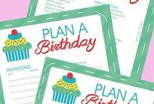 { KIDS } Birthday Party Ideas