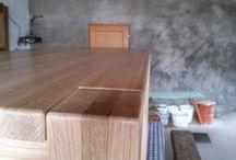 Na čem stolovat (Table) / Výroba stolu z dubového dřeva  Table from oak wood