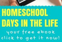 Homeschool - Day in the Life / Inspiring insights into what actually happens during a homeschooling family's day! Want to submit your own to feature on Fearless Homeschool? Email me at kelly@fearlesshomeschool.com