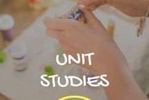 Unit Studies in Homeschooling / Planners, ideas and fun activities to help include unit studies in homeschooling.