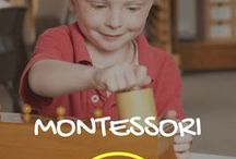Montessori Homeschooling / Everything Montessori + homeschool! Learn all about the Montessori method and how to use it in your homeschool, and get inspiration for great free Montessori resources.