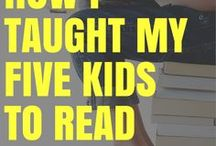 Learning to Read / Teaching your own children to read is really not that hard! Find lots of great resources and tips from parents who have done it.