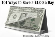 Frugal Ideas and Money Saving Resources / Money saving tips, personal finance, life hacks, frugal DIY projects, and resources to help you live well on a budget.
