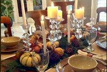 Autumn Ideas, Crafts, and Fall Recipes / Fall decorations, autumn recipes, DIY craft projects for Harvest Parties, Halloween, and Thanksgiving, and fall activities for kids.