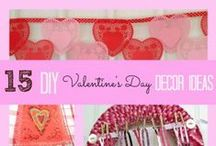 Valentine's Day / Valentine's Day Crafts, Handmade Valentine's Day Cards, Homemade Valentine's Day Candy, and DIY Valentine's Day Decor Ideas. / by Alea Milham | Premeditated Leftovers