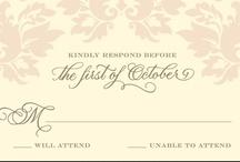 Invitations / by Katie Brucker