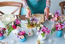 Tablescapes & Centrepieces / lovely and inspirational ideas to create stunning centrepieces