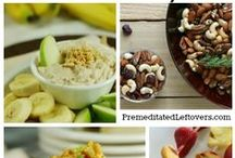 Healthy Snack Ideas / Healthy snack recipes and healthy eating tips.