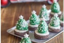 BAKE {Christmas Treats} / Homemade Christmas recipes for Christmas treats that can be given as a gift or shared with friends over a delicious meal. Christmas cookies, cakes, pies, cupcakes, homemade fudge and more.